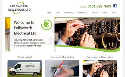 Failsworth Electrical launch new website